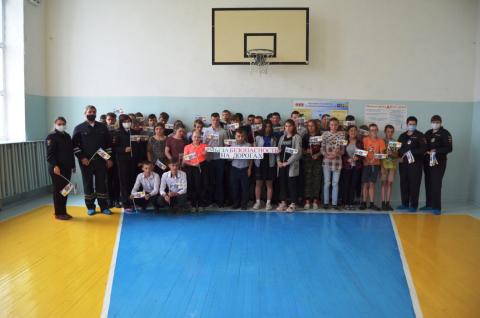 """1 июня в день защиты детей в г. Исилькуль прошло мероприятие  """"Мы за безопасность на дорогах"""""""