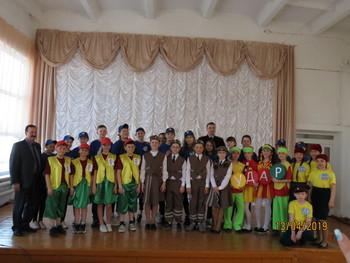 В омской области в Марьяновском районе прошел районный конкурс «Безопасное колесо – 2019»