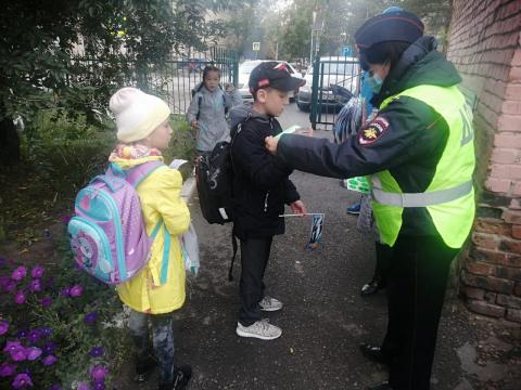 В г. Омске был проведен рейд родительского патруля