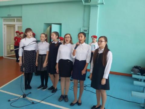 В Омской области, в гимназии г.Тюкалинска прошел конкурс по фигурному вождению велосипедов на кубок директора